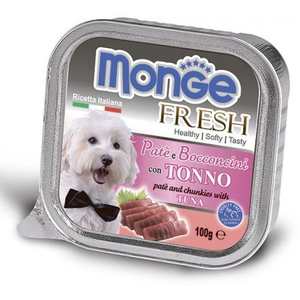 Monge Dog Fresh консервы для собак тунец 100 г.
